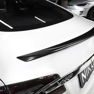 Weißer S - Carbon Spoiler